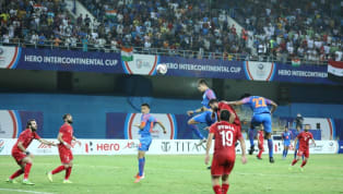 ings India put in a much improved performance in their third and final Intercontinental Cup clash against Syria as they fought to secure a 1-1 draw.  ​The Blue...
