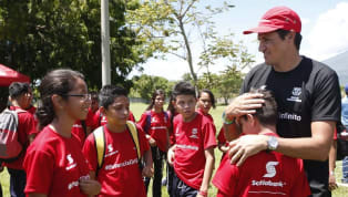 """""""Barça Academy Camp Brasil"""" será realizado no Allianz Parque entre os dias 19 e 21 de julho para oferecer a experiência do clube catalão à jovens de 05 a 15..."""