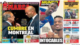 """El medio valenciano trae hoy al canterano coreano Kang In en su portada y titula """"Bomba Kang In"""". El jugador le habría dicho al club valenciano que no quiere..."""
