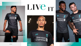 ason ​Liverpool have released their brand new third kit ahead of the 2019/20 Premier League season, with manufacturer New Balance creating a style which aims...