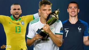 Après le succès de l'Algérie à la CAN hier, voici le XI type des trois équipes victorieusesdes trois dernières compétitions internationales : le Brésil à la...