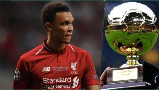 Vô địch Champions League 2018/19 cùngLiverpool, chơi tuyệt hay ở Ngoại hạng Anh, tại sao Trent Alexander-Arnold vẫn vắng mặt trong đề cử Golden Boy - Cậu Bé...