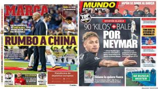"""SuperDeporte centra hoy su portada en el central francés Diakhaby, por el que le Valencia ha rechazado una oferta de 40 millones de euros, y titula """"Diakhaby..."""