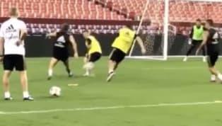 In attesa di conoscere il suo futuro, Luka Modric incanta in allenamento. Durante una seduta con il Real Madrid, il fuoriclasse croato si è reso protagonista...