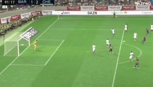 Phút 90+2, Ivan Rakitic ghi một siêu phẩm sút xa đẹp mắt rút ngắn tỉ số xuống 1-2 cho Barcelona trong trận đấu giao hữu Rakuten Cup với Chelsea. Đây cũng là...