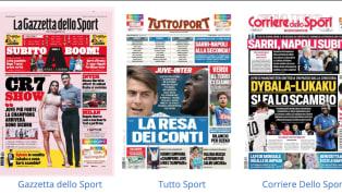 Lunga intervista aCristiano Ronaldosulla prima pagina dell'edizione odierna de La Gazzetta delloSport, che dedica ampio spazio anche alla fresca...