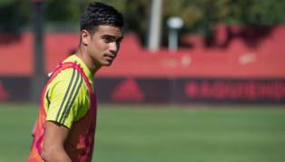 O jovem Reinier, de 17 anos, não escondeu sua satisfação de ter entrado em campo em sua primeira partida profissional peloFlamengo,na classificação...