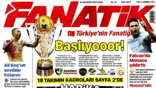 Temsilcilerimizin Avrupa kupası sınavlarından gelişmeler ve Süper Lig'de oynanacak olan ilk hafta maçları öncesindeki haberler gazetelerde ağırlıklı olarak...