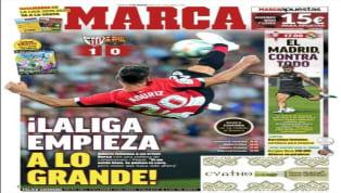 El periódico valenciano cree en la necesidad de que el Valencia gane a la Real Sociedad para paliar los efectos de la crisis institucional que tanto está...