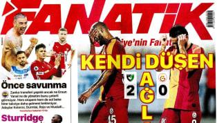 Galatasaray'ın Yukatel Denizlispor deplasmanındaki 2-0'lık mağlubiyeti günün haberlerinde ağırlıklı olarak işlendi. Beşiktaş'ın Demir Grup Sivasspor...