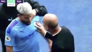 Sergio Aguero và huấn luyện viên của Manchester City Pep Guardiola đã có đôi lời tranh cãi khá căng thẳng ở trận đại chiến vòng Hai Ngoại hạng Anh tối 17.8...