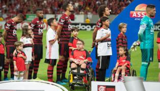 Titular de Jorge Jesus na goleada por 4 a 1 contra o Vasco da Gama, no estádio Mané Garrincha, pelo Campeonato Brasileiro, o volante Gustavo Cuéllar pode ter...