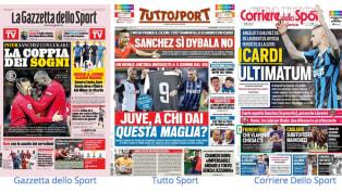 Interscatenata. La società nerazzurra è ad un passo da Alexis Sanchez: il cileno ha detto sì, ora resta da trovare l'accordo definitivo con il Manchester...