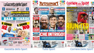 La Rassegna Stampa dei principali quotidiani sportivi italiani di martedì 20 agosto vede tanti nomi importanti in prima pagina. Tuttosport parla dell'intrigo...