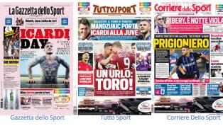 ÈMauro Icardiil nome caldo delle prime pagine dei principali quotidiani sportivi italiani di giovedì 22 agosto: il futuro dell'argentino è diviso tra...