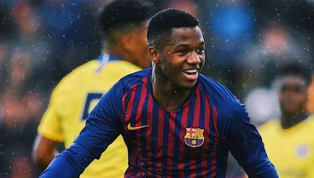 FCBarcelonamanagerErnesto Valverde has called up 16-year-old Ansu Fati to La Blaugrana'ssquad that will face Real Betis on Sunday. Typically a forward,...