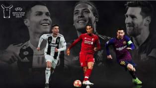 Ba ngôi sao Lionel Messi, Cristiano Ronaldo và Virgil van Dijk đã góp mặt trong danh sách rút gọn của giải UEFA-Cầu thủ hay nhất năm, sau đây là những thông...