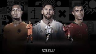 FIFA mới đây đã công bố danh sách rút gọn ba cái tên cho giải thưởng FIFA The Best - Cầu thủ hay nhất năm với Virgil van Dijk,Cristiano Ronaldo,vàLionel...