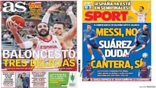 """La posible nueva 'crisis' en el Valencia aparece en la portada de hoy de Súper Deporte. Con imagen de Mateu Alemany y Anil Murthy, el medio titula hoy """"Aquí..."""