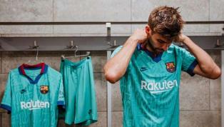 O Barcelona lançou nesta quinta-feira (12) seu novo terceiro uniforme. Com tom verde azulado, a camisa é uma homenagem ao modelo usado pelo clube na...