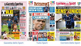 Gli anticipi della terza giornata di Serie A, andati in scena ieri, dominano ovviamente la scena. L'Interè a punteggio pieno, ancora un successo per gli...