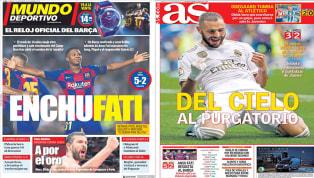 El Valencia cayó estrepitósamente a manos del Barcelona pocos días después de la destitución de Marcelino a pesar del apoyo del vestuario, lo que seguro...