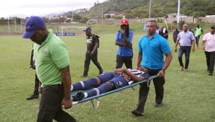 A video showing thehorrific moment when lightning struck two footballers who were playing on the field in Jamaica has gone viral. The two young men were...