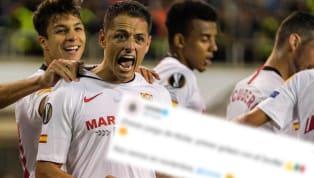 Hoy Javier Hernández debutó con el Sevilla en la Europa League, en un partido que el delantero mexicano se lució con un gran gol de tiro libre con el que...