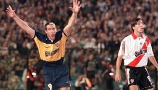 A Palermo siempre le fue bien contra River, incluso en sus inicios en Estudiantes. Con la camiseta de Boca se cansó de meterla en superclásicos y se convirtió...