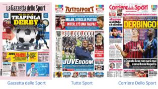 Il giorno del derby di Milano è arrivato, una sfida già importante per indirizzare la prima parte di stagione diMilaneInter: Giampaolo è alla ricerca di...