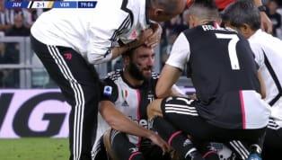 Nella vittoria interna dellaJuventus contro l'HellasVerona,Gonzalo Higuainsi è fatto notare dopo il suo ingresso in campo anche per un duro scontro di...