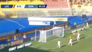 LaRomavince di misura in casa del Lecce: 0-1 il risultato finale, decisiva la rete di Dzeko in avvio di secondo tempo. Nella ripresa i giallorossi...