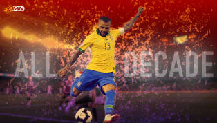 Dani Alves is number 8 in 90min's Top 20 Greatest Footballers of the Decade series. Follow the rest of the series over the course of the next two weeks....