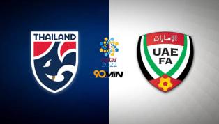ข้อมูลการแข่งขัน การแข่งขัน ฟุตบอลโลก 2022 รอบคัดเลือก โซนเอเชีย วันแข่งขัน วันอังคารที่ 15 ตุลาคม2019 เวลาแข่งขัน 19:00 น. คู่แข่งขัน ทีมชาติไทย vs ยูเออี...