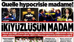 A Milli Takımımız'ın Fransa mücadelesinin yankıları, bugünkü gazetelerde de ağırlıklı olarak yer bulmuş durumda. Kulüplerimizden de haberlerin yer aldığı...