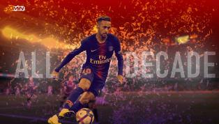 Neymar Jr.es el número 10 en los mejores 20 mejores futbolistas de la serie de la década. Siga el resto de la serie en el transcurso de las próximas tres...