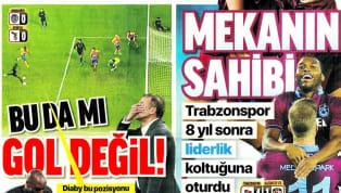 Trabzonspor'un Gaziantep Futbol Kulübü karşısında elde ettiği 4-1'lik galibiyet ve Beşiktaş'ın Ankaragücü deplasmanındaki 0-0'lık beraberliği gazetelerde...