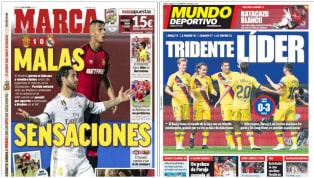 La batería de partidos de ayer dejó una derrota (1-0) del Real Madrid en feudo del RCD Mallorca y un triunfo (0-3) del FC Barcelona en el del Eibar. De este...