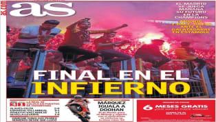 Carlos Soler ocupa la portada del periódico valenciano. El jugador regresa justo en la jornada de Champions, donde el Valencia necesita ganar. El Levante cayó...