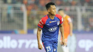 Bengaluru FC almost ​claimed a crucial away win in the ​Indian Super League against ​FC Goa on Monday with a 62nd minute goal from Indian winger Udanta Singh...