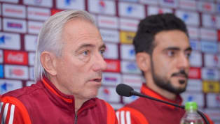 Huấn luyện viên trưởng của UAE, ông Bert van Marwijk mới đây đã tiết lộ lý do vì sao UAE lại chọn Thái Lan làm điểm tập luyện chứ không phải Việt Nam. Chia sẻ...
