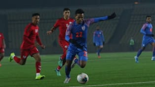 ​India needed an injury-time header from substitute Seminlen Doungel to secure a point against Afghanistan in their 2022 FIFA World Cup qualifier in Dushanbe....
