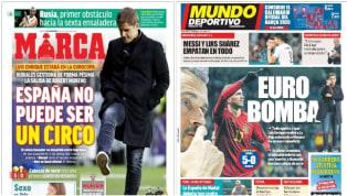 La mala gestión de Luís Rubiales, presidente de la Real Federación Española de Fútbol, gestionando el despido de Robert Moreno a sus espaldas para que vuelva...