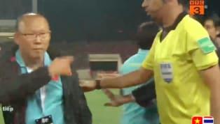 HLV Park Hang-Seo mới đây đã lý giải về tình huống gây gổ với trợ lý HLV tuyển Thái Lan. Video tổng hợp: Việt Nam 0-0 Thái Lan (Vòng loại World Cup 2022) Chấm...