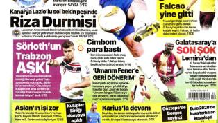 Spor Toto Süper Lig'in 12. hafta maçları öncesinde kulüplerimizden haberler ağırlıklı olarak gazetelerde yer buldu. Çarşamba gününün öne çıkan haber...