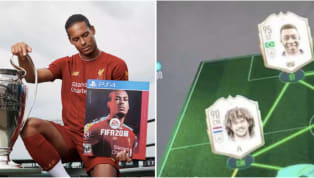 ​Liverpool superstar ​Virgil van Dijk is surely enjoying his time with ​FIFA 20's Ultimate Team with him having his own personal card in the game too. And...