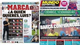 """Con imagen de Rodrigo Moreno en la portada, SúperDeporte viene hoy con el titular """"La Liga no espera"""". El Valencia juega hoy en Mestalla contra el Villarreal..."""