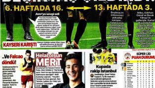 Beşiktaş'ın 4-1'lik İstikbal Mobilya Kayserispor galibiyeti gazetelerde ağırlıklı olarak yer bulmuş durumda. Ziraat Türkiye Kupası maçları öncesindeki...