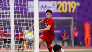 U22 Việt Nam hòa U22 Thái Lan 2-2 trong trận cầu mà bản lĩnh của Tiến Linh đã giúp U22 VN đi tiếp vào bán kết SEA Games 30. U22 VN đấu U22 Thái Lan trong...