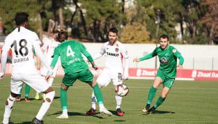 Ziraat Türkiye Kupası 5. tur mücadelesinde Gaziantep Futbol Kulübü, Kırklarelispor deplasmanından 2-1 mağlup ayrıldı. Ev sahibi ekibin golleri; 45+3....